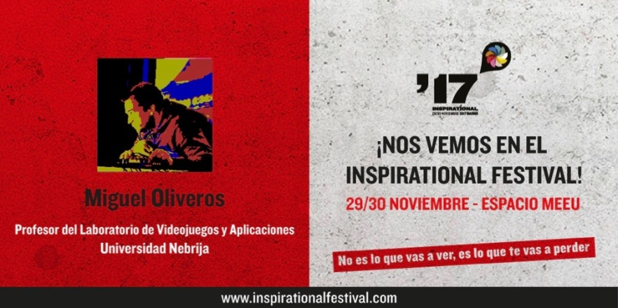 Miguel Oliveros _ Universidad Nebrija _ Festival Inspirational (1)